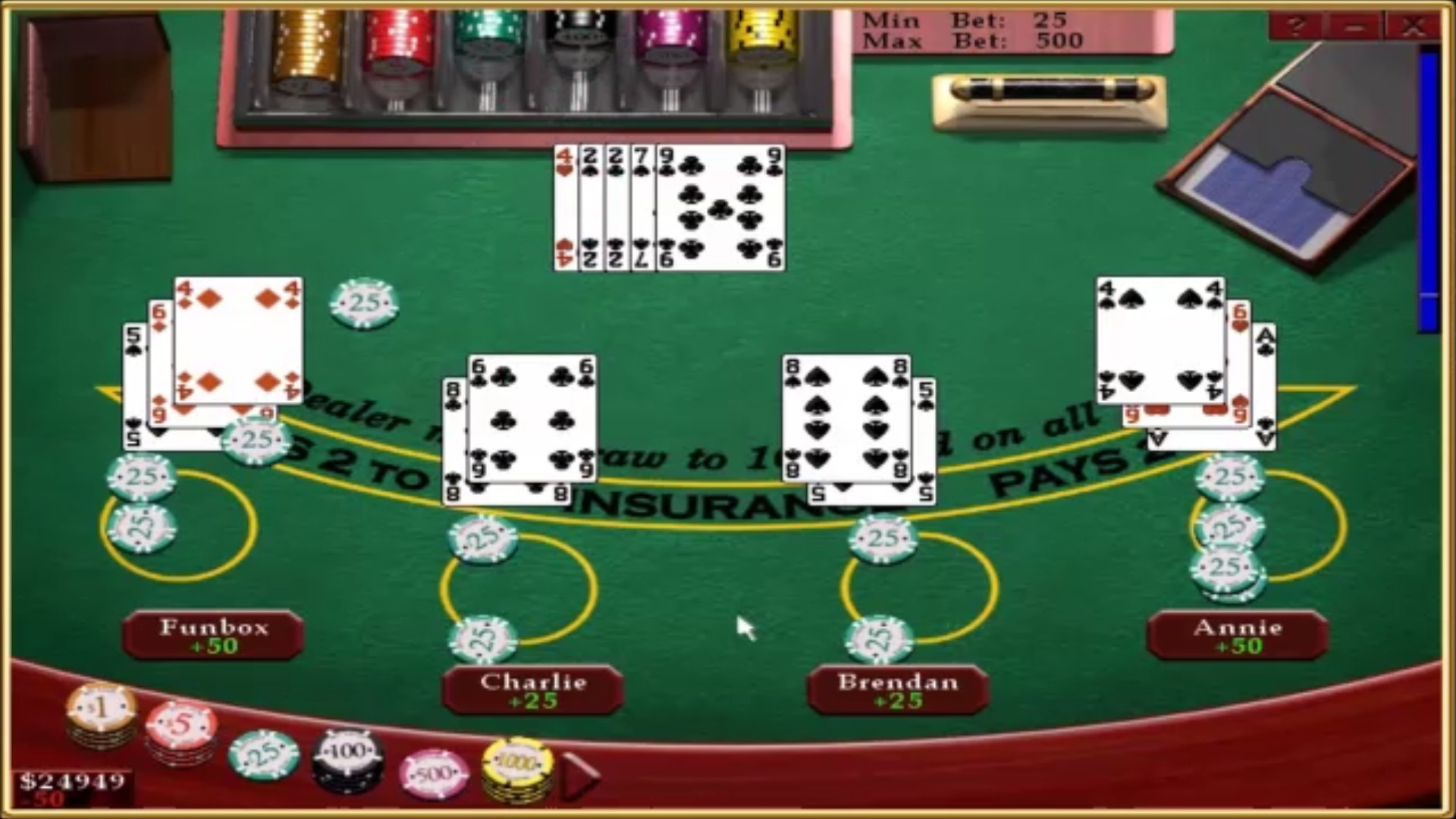Blackjack counting cards 67644