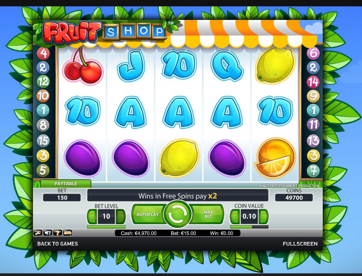 Fruit shop 79098